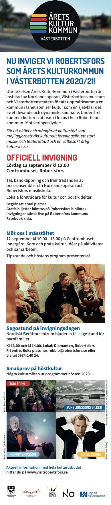 Robertsfors ÅKK annons